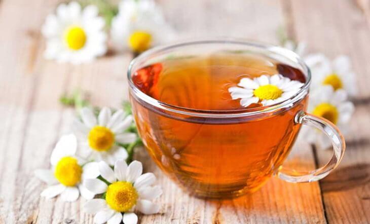 Ромашковый чай для успокоения