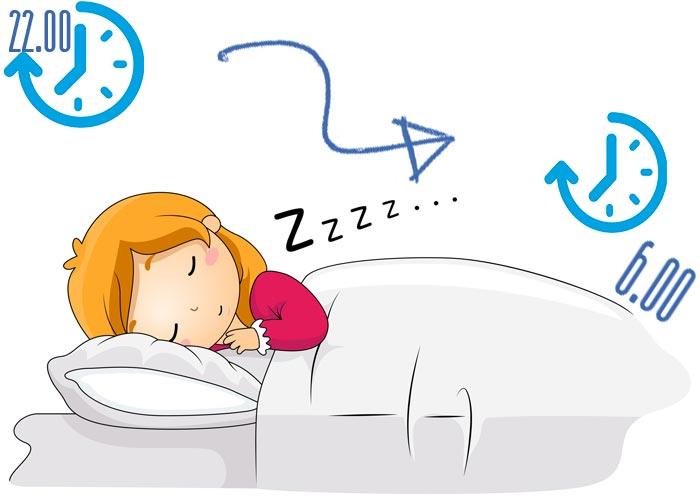 Во сколько нужно вставать по утрам?