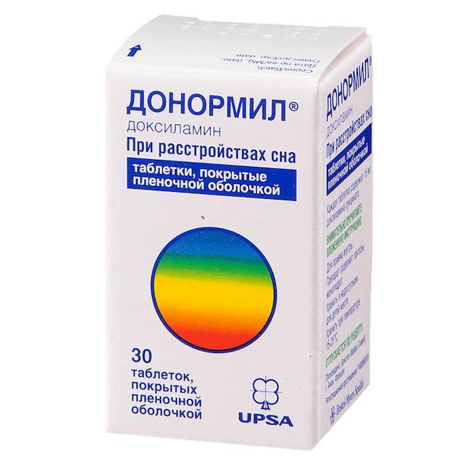 Лекарства от бессонницы без рецептов